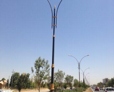Project of Re-Installation Lighting of Massif Salahaddin Road